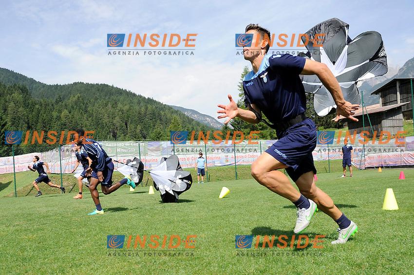 Chris Oikonomidis<br /> 22-07-2016 Auronzo di Cadore ( Belluno )<br /> Ritiro estivo S.S. Lazio ad Auronzo di Cadore in preparazione per la stagione 2016-2017<br /> SS Lazio pre season training camp <br /> @ Marco Rosi / Fotonotizia / Insidefoto