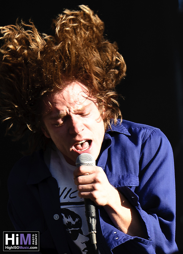 Cage the Elephant playing at Voodoo Festival 2010 in New Orleans.