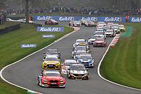 2019 British Touring Car Championship. Race three start.