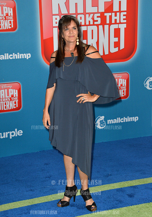 LOS ANGELES, CA. November 05, 2018: Jennifer Hale at the world premiere of &quot;Ralph Breaks The Internet&quot; at the El Capitan Theatre.<br /> Picture: Paul Smith/Featureflash
