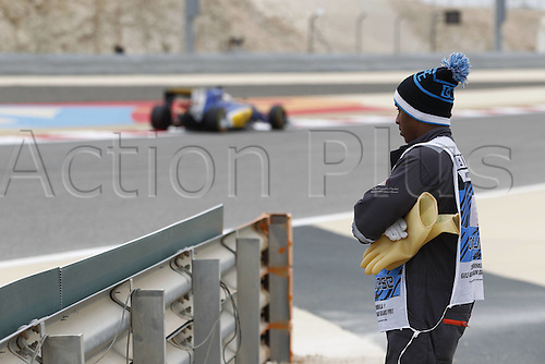 01.04.2016. Bahrain. FIA Formula One World Championship 2016, Grand Prix of Bahrain, Practise day.  Steward/marshal,