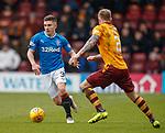 31.3.2018: Motherwell v Rangers: <br /> Declan John