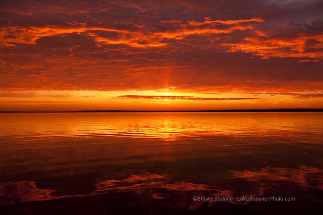 sunrise, Bayfield, Wi