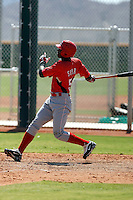 Jefry Sierra - Cincinnati Reds 2009 Instructional League. .Photo by:  Bill Mitchell/Four Seam Images..