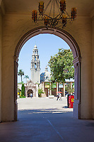 The California Bell Tower at Balboa Park San Diego