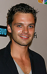 Actor Sebastian Stan arrives at the NBC Universal 2008 Press Tour All-Star Party at The Beverly Hilton Hotel on July 20, 2008 in Beverly Hills, California.