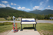 Mount Washington Valley - Mount Washington from Pinkham Notch in Green's Grant, New Hampshire USA.