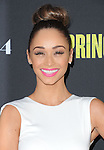 Cara Santana at The L.A. Premiere of Spring Breakers held at The Arclight Theater in Hollywood, California on March 14,2013                                                                   Copyright 2013 Hollywood Press Agency