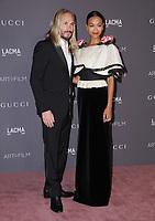 04 November  2017 - Los Angeles, California - Marco Perego, Zoe Saldana. 2017 LACMA Art+Film Gala held at LACMA in Los Angeles. <br /> CAP/ADM/BT<br /> &copy;BT/ADM/Capital Pictures