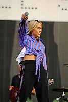 LONDON, ENGLAND - SEPTEMBER 9: Nicole Appleton of 'All Saints' performing at BBC Radio 2 Live in Hyde Park, on September 9, 2018 in London, England.<br /> CAP/MAR<br /> &copy;MAR/Capital Pictures