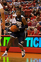 01 December 2010: Jackson State's Tyrone Hanson (10) looking to drive down the center against the Nebraska Cornhuskers at the Devaney Sports Center in Lincoln, Nebraska. Nebraska defeated Jackson State 76 to 57.