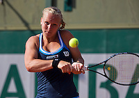 France, Paris, 31.05.2014. Tennis, French Open, Kiki Bertens (NED)<br /> Photo:Tennisimages/Henk Koster