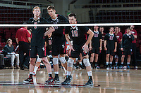 Stanford, CA, February 24, 2014<br /> Stanford Men's Volleytball versus UCLA, Stanford lost 2-3.