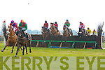 RACES: Going over the fences at the North Kerry Harries point to point races at the Ballybeggan racecourse, Tralee on Sunday.