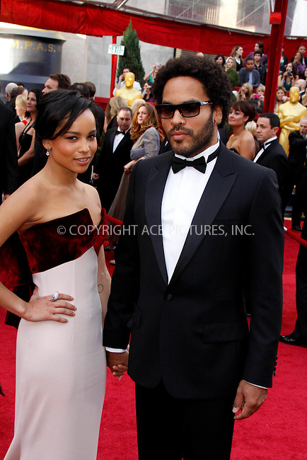 WWW.ACEPIXS.COM . . . . .  ....March 7 2010, Hollywood, CA....Zoe Kravitz and Lenny Kravitz at the 82nd Annual Academy Awards held at Kodak Theatre on March 7, 2010 in Hollywood, California.....Please byline: Z10-ACE PICTURES... . . . .  ....Ace Pictures, Inc:  ..Tel: (212) 243-8787..e-mail: info@acepixs.com..web: http://www.acepixs.com