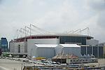 Arena Olimpica do Rio (HSBC Arena),<br /> APRIL 6, 2016 : A general view of the Arena Olimpica do Rio in Rio de Janeiro, Brazil.<br /> (Photo by Hitoshi Mochizuki/AFLO)