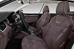 Front seat view of a 2017 Skoda Octavia Combi Scout 5 Door Wagon front seat car photos