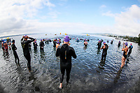 Masters 2.5km. Swimming New Zealand Open Water Championships, 5km Epic, Lake Taupo, Waikato, New Zealand, Sunday 14 January 2018. Photo: Simon Watts/www.bwmedia.co.nz