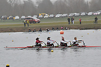 033 MarlowRC W.IM3.4x‐..Marlow Regatta Committee Thames Valley Trial Head. 1900m at Dorney Lake/Eton College Rowing Centre, Dorney, Buckinghamshire. Sunday 29 January 2012. Run over three divisions.