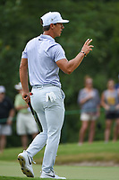 Thorbjorn Olesen (DEN) after sinking his putt on 8 during round 3 of the WGC FedEx St. Jude Invitational, TPC Southwind, Memphis, Tennessee, USA. 7/27/2019.<br /> Picture Ken Murray / Golffile.ie<br /> <br /> All photo usage must carry mandatory copyright credit (© Golffile | Ken Murray)