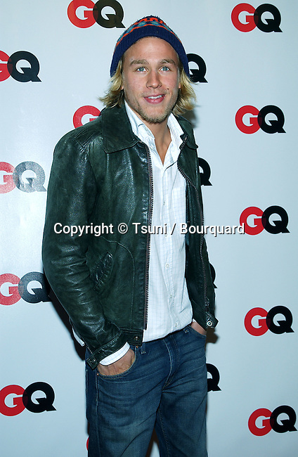 """Charlie Hunnam (Nicholas Nickleby) arriving at the """" GQ 4th HOLLYWOOD ISSUE """" at the White Lotus in Los Angeles. February 20, 2003.          -            HunnamCharlie34.jpg"""