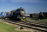 AJ3000, Lancaster County, museum, engine, locomotive, Pennsylvania, train, Trains displayed at the Railroad Museum of Pennsylvania in Strasburg in Pennsylvania Dutch Country in the state of Pennsylvania.