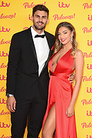 Adam Collard and Zara McDermott<br /> arriving for the ITV Palooza at the Royal Festival Hall London<br /> <br /> ©Ash Knotek  D3444  16/10/2018