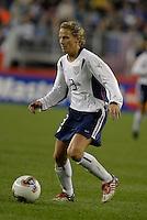Kristine Lilly, USA vs. Norway, in Boston, Ma, 2003 WWC.