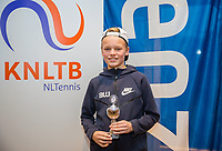 Hilversum, Netherlands, December 3, 2017, Winter Youth Circuit Masters, 12,14,and 16 years,  7 th place boys 14 years Abel Forger<br /> Photo: Tennisimages/Henk Koster