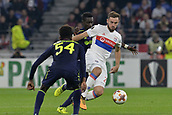 2nd November 2017, Nice, France; EUFA Europa League, Olympique Lyonnais versus Everton;  Lucas Tousart (lyon) breaks through midfield