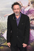 Tim Burton at the premiere of &quot;Alice Through the Looking Glass&quot; at the Odeon Leicester Square, London.<br /> May 10, 2016  London, UK<br /> Picture: Steve Vas / Featureflash