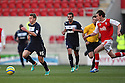 Luke Freeman of Stevenage escapes from Jamie Devitt of Rotherham. Rotherham United v Stevenage - FA Cup 1st Round - New York Stadium, Rotherham - 3rd November 2012. © Kevin Coleman 2012.