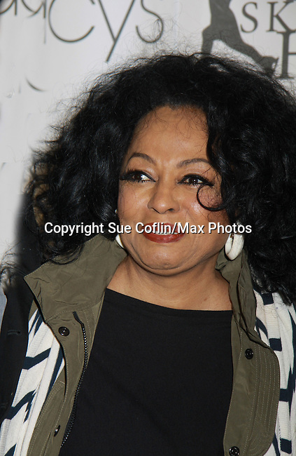 Diana Ross (of the Supremes) where Rhonda was honored with the Star Leadership Award at the 2012 Skating with the Stars - a benefit gala for Figure Skating in Harlem celebrating 15 years on April 2, 2012 at Central Park's Wollman Rink, New York City, New York.  (Photo by Sue Coflin/Max Photos)