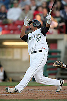 April 16, 2009: Franklin Hernandez (19) of the Kane County Cougars at Elfstrom Stadium in Geneva, IL.  Photo by:  Chris Proctor/Four Seam Images