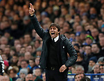 Antonio Conte manager of Chelsea shouts from the touchline during the Champions League Group C match at the Stamford Bridge, London. Picture date: December 5th 2017. Picture credit should read: David Klein/Sportimage