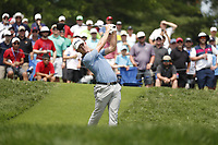 Brandon Stone (RSA) tees off on the 4th hole during the final round of the 100th PGA Championship at Bellerive Country Club, St. Louis, Missouri, USA. 8/12/2018.<br /> Picture: Golffile.ie   Brian Spurlock<br /> <br /> All photo usage must carry mandatory copyright credit (© Golffile   Brian Spurlock)