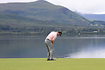 Michael Hoey putts on the 4th green during the Final Day of the 3 Irish Open at the Killarney Golf & Fishing Club, 1st August 2010..(Picture Eoin Clarke/www.golffile.ie)