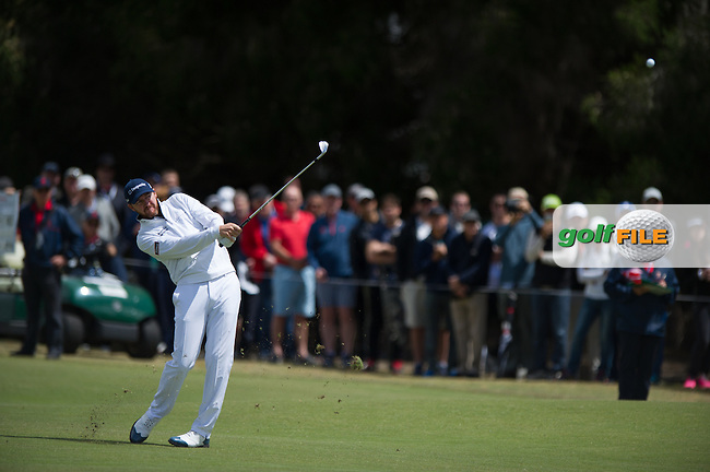Jimmy Walker (USA) during the final round at the ISPS Handa World Cup of Golf, from Kingston heath Golf Club, Melbourne Australia. 27/11/2016<br /> Picture: Golffile | Anthony Powter<br /> <br /> <br /> All photo usage must carry mandatory copyright credit (&copy; Golffile | Anthony Powter)