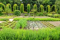 France, Loiret (45), Chilleurs-aux-Bois, château et jardins de Chamerolles