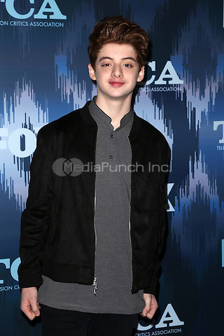 Pasadena, CA - JANUARY 11: Thomas Barbusca, At 2017 Winter TCA Tour - FOX All-Star Party, At Langham Hotel In California on January 11, 2017. Credit: Faye Sadou/MediaPunch