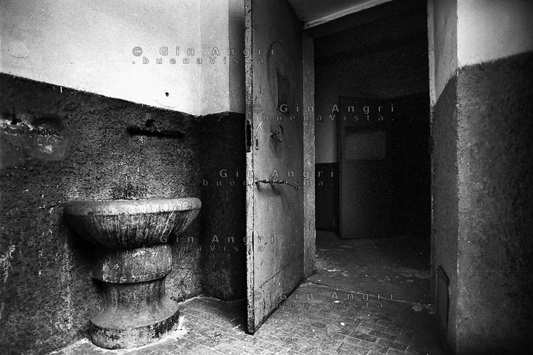 l'ingresso alle celle dell'ex carcere di san Donnino di Como