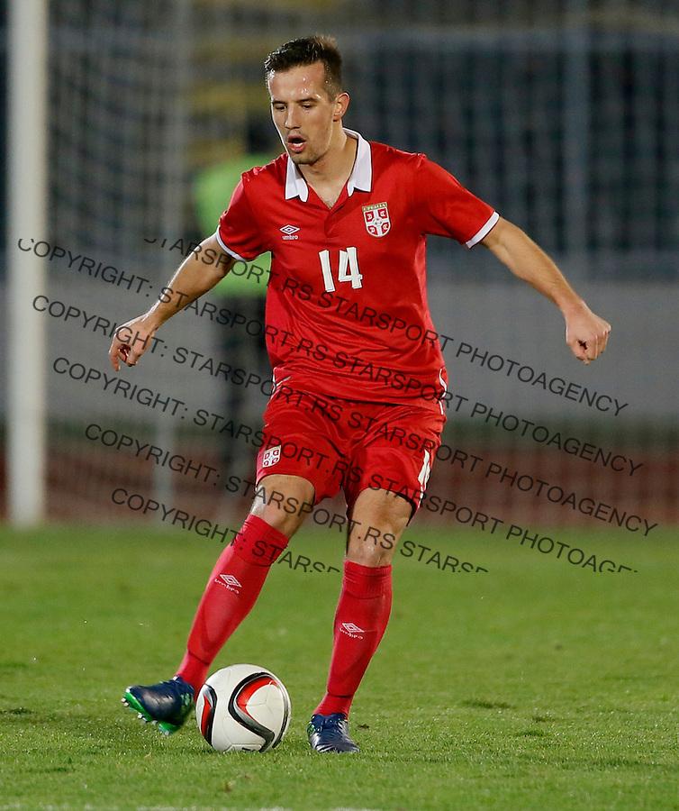 Vukasin Jovanovic Reprezentacija, U21 Srbija - Norveska , baraz 11.11.2016. Beograd Srbija kvalifikacije  Serbia - Norway (credit image & photo: Pedja Milosavljevic / STARSPORT)