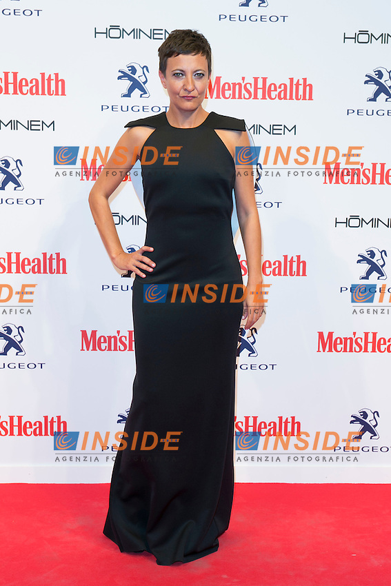 Eva Hache attend the MENS HEALTH AWARDS at Goya Theatre in Madrid, Spain. October 28, 2014. (ALTERPHOTOS/Carlos Dafonte/Insidefoto)