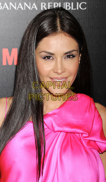 "Carla Ortiz.arriving at AMC's ""Mad Men"" Season 5 Premiere at ArcLight Cinemas Cinerama Dome in Hollywood, California, USA..March 14th, 2012.headshot portrait pink.CAP/ROT/TM.©Tony Michaels/Roth Stock/Capital Pictures"