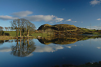Glanderston Dam and Duncarnock Fort (The Craigie), Barrhead, East Renfrewshire<br /> <br /> Copyright www.scottishhorizons.co.uk/Keith Fergus 2011 All Rights Reserved