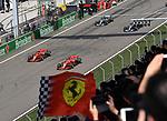 15.04.2018, Shanghai Audi International Circuit, Shanghai, 2018 FORMULA 1 HEINEKEN CHINESE GRAND PRIX, 12.04. - 15.04.2018<br /> im Bild<br />Sebastian Vettel (GER#5), Scuderia Ferrari, Kimi Raikkonen (FIN#7), Scuderia Ferrari, Valtteri Bottas (FIN#77), Mercedes AMG Petronas Formula One Team, Lewis Hamilton (GB#44), Mercedes AMG Petronas Formula One Team<br /> <br /><br /> <br /> Foto &copy; nordphoto / Bratic