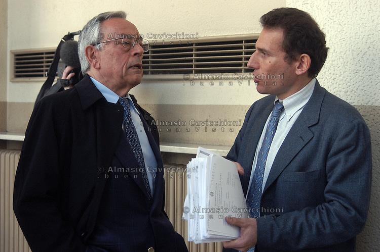 Gli avvocati CESARE PREVITI e ALESSANDRO SAMMARCO