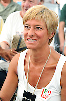 Roberta Pinotti <br /> Genova 07-09-2013 Festa Nazionale Partito Democratico <br /> Democratic Party National Meeting <br /> Photo  Genova Foto /Insidefoto