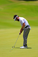 Louis Oosthuizen (RSA) in action during the third round of the Afrasia Bank Mauritius Open played at Heritage Golf Club, Domaine Bel Ombre, Mauritius. 02/12/2017.<br /> Picture: Golffile | Phil Inglis<br /> <br /> <br /> All photo usage must carry mandatory copyright credit (&copy; Golffile | Phil Inglis)