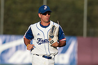 31 July 2010: Robin Allemand of Team France is seen at bat during Greece 14-5 win over France, at the 2010 European Championship, in Heidenheim, Germany.